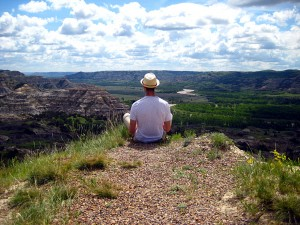 Outlook at Theodore Roosevelt National Park