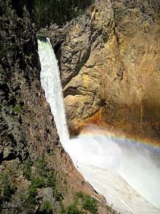 Lower falls YSNP