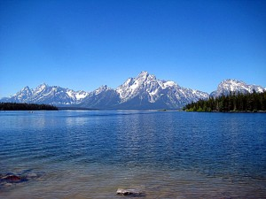 Grand Teton near Colter Bay